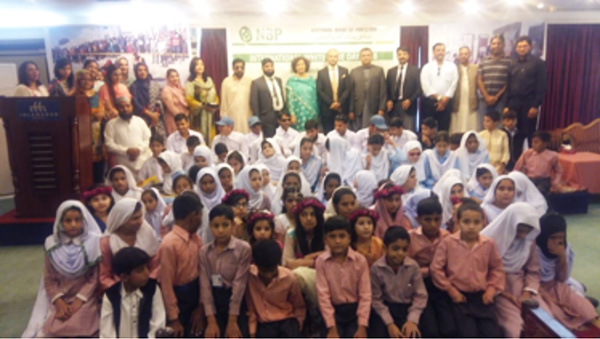 International White Cane Day – funded by National Bank of Pakistan